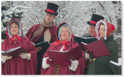 Connecticut Yuletide Carolers